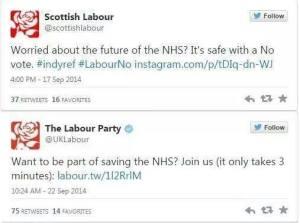 labour tweets